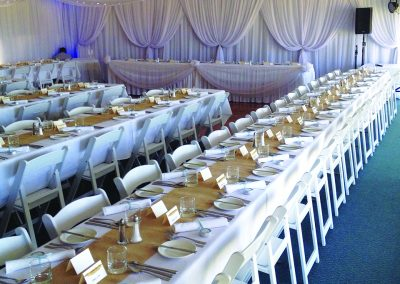 Stylish setting for a Beautiful Wedding