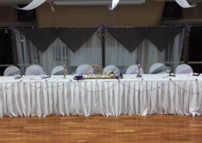 Main Bridal Table