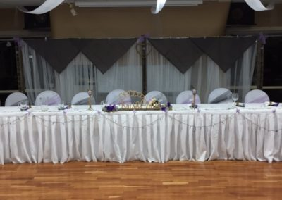 Main Bridal Table