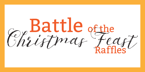 battle of the christmas feast raffles for 2017 prawns verse hams at the Bowlo