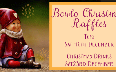 16 & 23 December – Bowlo Christmas Raffles