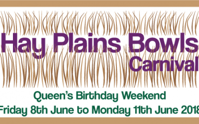 8th to 11th June – Hay Plains Bowls Carnival