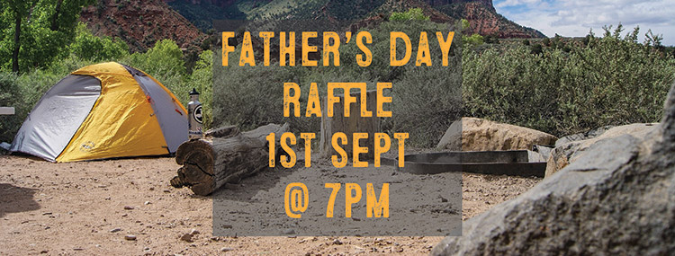 1st Sept 2018 – Father's Day Raffle