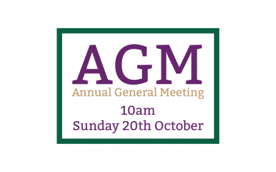 20th October 2019 – AGM
